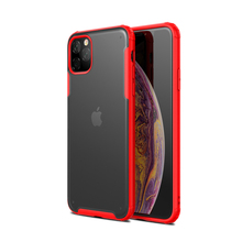 For iPhone 11 Pro Max Case Clear Hybrid Soft Matte TPU+PC Shockproof Armor Cover for XI 2019 Slim