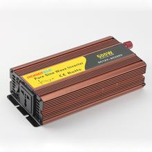 цена на 12V/24V/48V 110/220V 500w inverter dc ac Pure Sine Wave Power inverter with charger