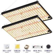 2021 quatum Led Grow Light Board Full Spectrum Samsung lm301b QB288 3500K/4000K/3000K+660nm Meanwell driver 120w/240w DIY parts