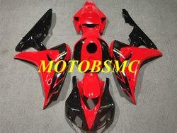 Motorcycle Fairing kit for CBR1000RR 06 07 CBR 1000RR CBR 1000 RR 2006 2007 ABS Red black Fairings set+gifts HF44