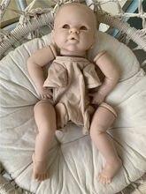Incluído pano corpo olhos misha reborn boneca kit 20 polegada por linda cor fresca boneca peças de vinil flexível presente natal
