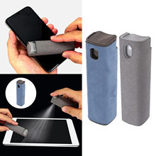 2in1 Screen Cleaning Spray Bottle Portable Cloth Instantly Clean the Screen TV Shell Mobile Screen Cleaner Shell