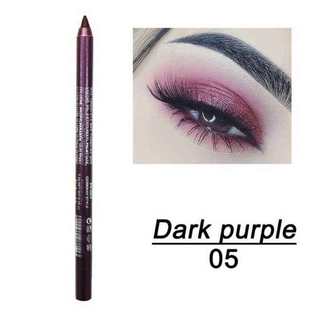 1 Pc Long-lasting Eyeliner Pencil Waterproof 14 Colors Eyeliner Eyeshadow Pen Cosmetic Makeup Tools Dropshipping TSLM2 2