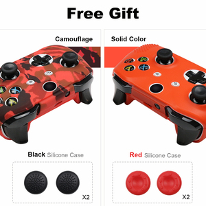 Image 5 - 18 Colors Silicone Gamepad Protective Case Skin For XBox One Slim Controller Protector Camouflage Controle Cover Joystick
