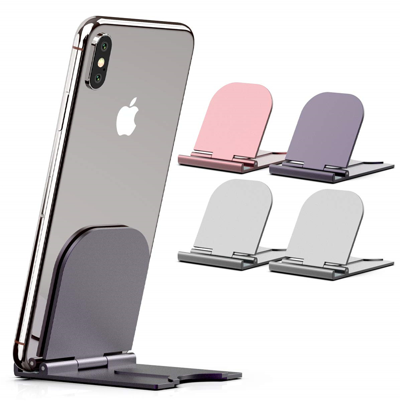 Portable Phone Stand Adjustable Foldable Tablet Mount Desktop Phone Holder Cradle Dock For IPhone 11 Pro XS Max XR Support Desk