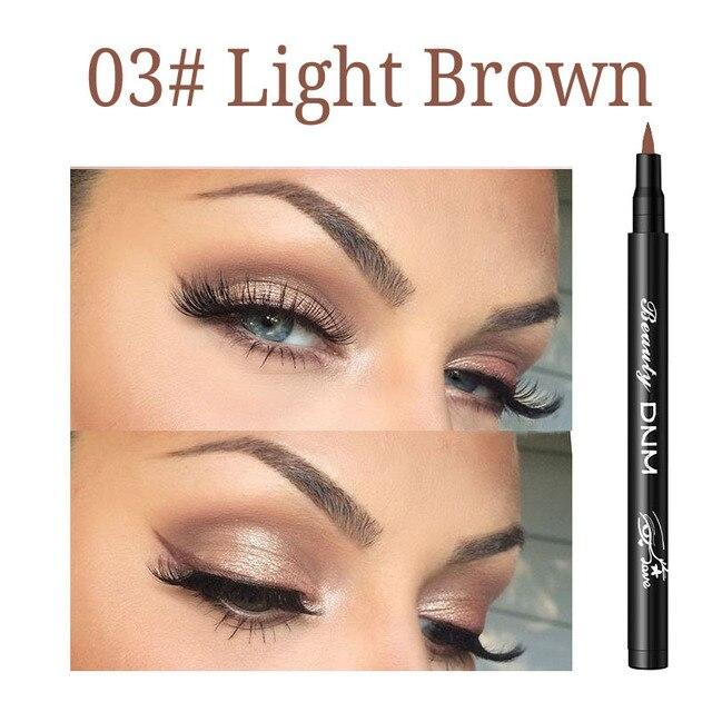 1pc 12 Colors Matte Eyeliner Waterproof Colorful Liquid Eyeliner Pen Long-lasting Eye Liner Pencil Eye Makeup Cosmetic Tools 5
