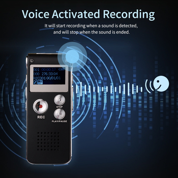 8GB Voice Activated Recorder for Telephone Recording 5