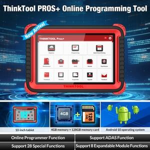 Image 2 - Thinkcar herramienta de diagnóstico Thinktool Pros Plus OBD2, herramienta de programación en línea de 10 pulgadas, función ADAS, 2 años de actualización gratuita, reinicio especial de 28