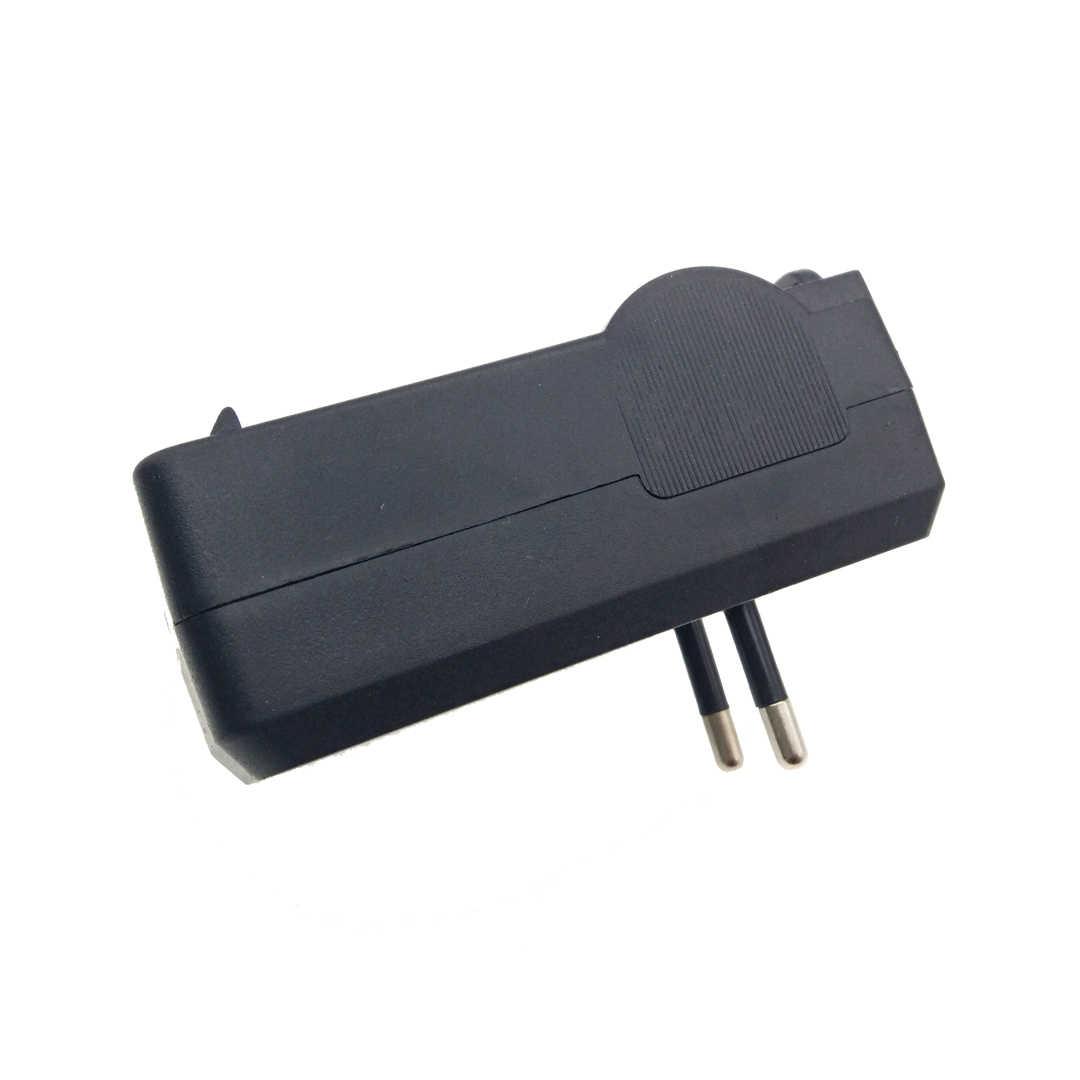 2 Bagian 18650 Charger Baterai Li-ion Perjalanan Dinding Rumah Pengisi Daya 110-240V Charger