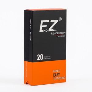 Image 3 - EZ Revolution Cartridge Tattoo Needles Round Shader  #12 0.35mm Long Taper 3.5mm for Cartridge Tattoo Machines Grips 20 pcs /lot