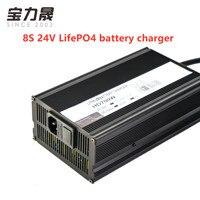 24 8S V 10 150A LifePO4 carregador de bateria para bateria de Fosfato De Ferro De Lítio veículo elétrico LifePO4 24V20AH 200AH 300AH 400AH|Adaptadores AC/DC| |  -