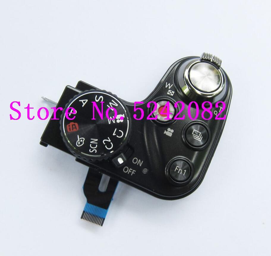 New Power Switch Modelo Botão Swich Para Panasonic FZ200 top tampa Da Câmera Zoom Unidade de Substituição Repair Parte