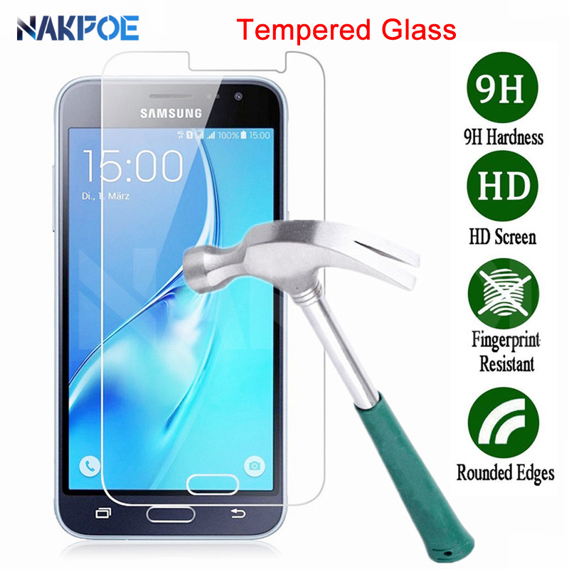 Tempered Glass For Samsung Galaxy J3 J5 J7 2015 2016 2017 Screen Protector Samsung J2 J8 J4 J6 Plus 2018 Protective Glass Film image