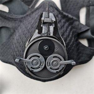 Image 5 - Sport treningowy maska 4.0 styl czarna duża wysokość szkolenia wyposażony jest w 25 poziomów oporu regulowana