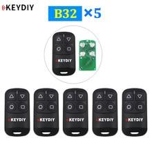 5 pçs/lote KEYDIY 4 Botão Geral B32 Generater Remoto Remoto Da Porta Da Garagem para KD900 URG200 KD-X2 Mini KD