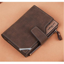 Men #8217 s Short Wallets Contact #8217 s Coin Purse Vintage Multifunction Short drivers license Wallet Card Holder Zipper Hasp Men Wallet cheap LKEEP 137g Polyester 10 3cm Solid Casual MF942190 Passcard Pocket Coin Pocket Interior Compartment Photo Holder Note Compartment