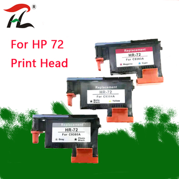 compatible for HP72 hp72 printhead C9380A C9383A C9384A for HP DesignJet T1100 T1120 T1120ps T1300ps T2300 T610 T770 T790 T795 image