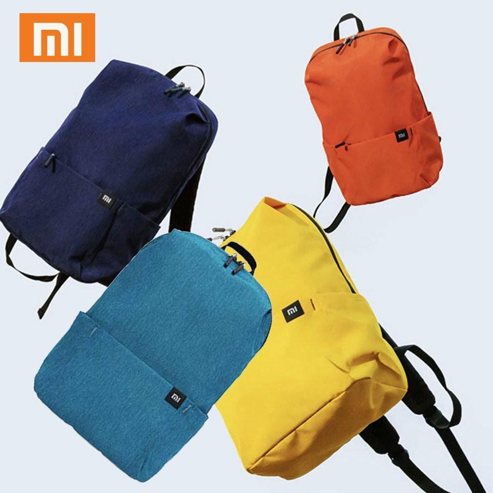 Original Xiaomi Mi Backpack 10L Bag 8 Colors 165g Urban Leisure Sports Chest Pack Bags Men Women Small Size Shoulder Unise