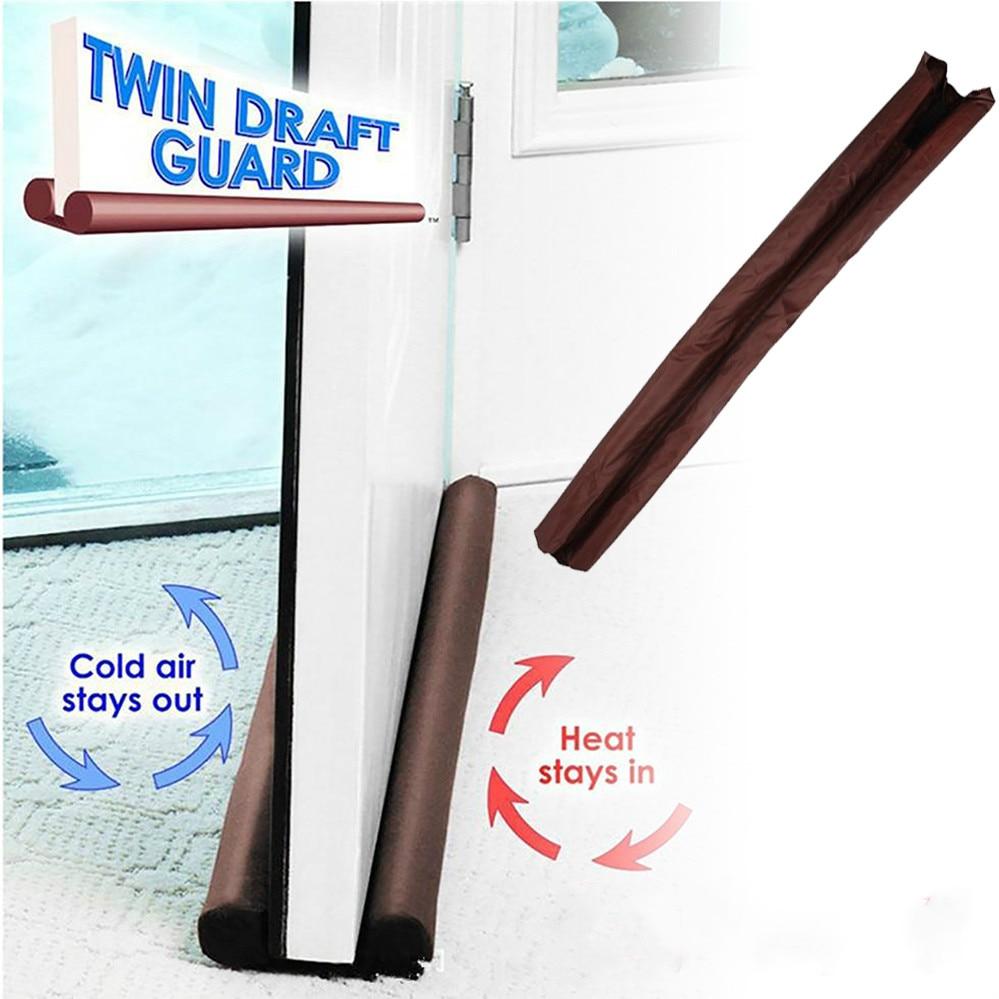 Heavy Duty Door Draught Stopper Wind Blocker Stopper Home Snake Draft Excluder