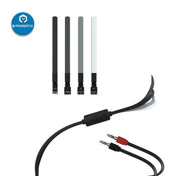 QIANLI, Cable de alimentación de teléfono móvil para iPhone, Conector de batería de reparación, Cable de fuente de alimentación CC para iPhone 6/6P/7/7P/8/8P/X/XS/MAX