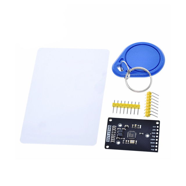 RFID module RC522 MFRC 522 RDM6300 Kits S50 13.56 Mhz 125Khz 6cm With Tags SPI Write & Read for arduino uno 2560|Integrated Circuits|   -