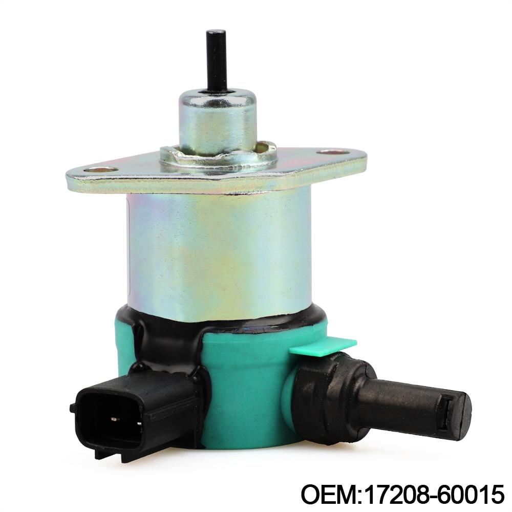 New SA-4899-12 SA489912 1756ES-12 16851-57723 Fuel Stop Shut Off Solenoid For Kubota SynchroStart D722 D902 Z482 12V