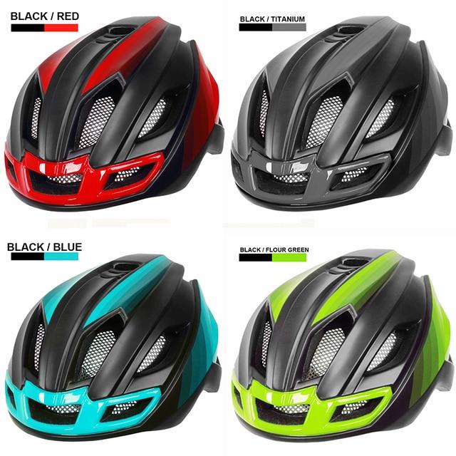 X-tiger luz ciclismo capacete da bicicleta ultraleve capacete intergralmente moldado mountain road bicicleta mtb capacete seguro das mulheres dos homens 5