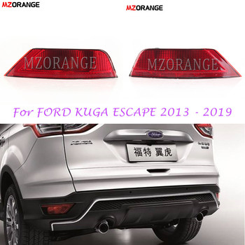 MZORANGE Car parts Rear Bumper Fog Light Rear Fog Lamp Reflector Fog Light For FORD KUGA ESCAPE 2013 - 2019 Tail Light Rear Lamp 1pc lh without bulbs front grille fog lamp for ford kuga escape 2013