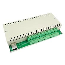 16 gangue Rede Ethernet TCP IP Módulo de Controle do Relé Interruptor Diy Inteligente Domótica Domotica Controle Remoto de Alarme de Segurança