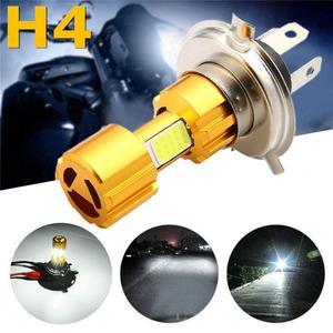 1PC 12V H4 Led Headlight Bulb 18w Cob High Brightness Motorcycle Headlight 5000h Led Headlight Bulb Car Accessories Led Lights