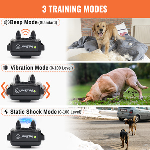 Image 3 - Petrainer 620A 1 300m Rechargeable&Waterproof Dog Training Collar Training Stimulations With LCD Screen