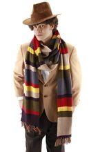 """Dr lekarz, który po czwarte 4th 12 """"DELUXE Tom Baker ciepłe z miękkiej dzianiny szalik w paski przebranie na karnawał prezent 365cm * 23cm i 200cm * 16cm"""