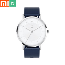Original Xiaomi Mijia Quartz Watch / Imported Movement / Stainless Steel Case / Leather Strap / Mens and Womens Watch