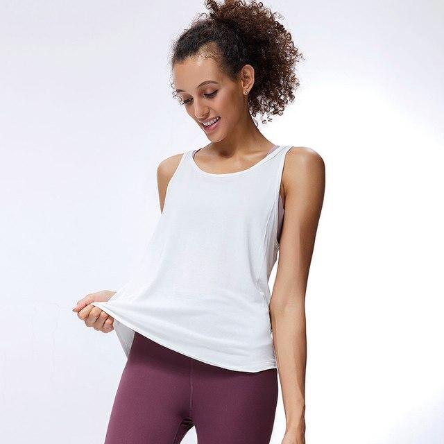 NCLAGEN Sports Top Women Gym Fitness Vest Workout Elastic Beautiful Back Halter Running Sexy Open Back Tank Top Yoga Sportswear