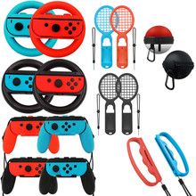 2Set Left+Right Joy-Con Controller Grips Case For Nintendo Switch Handle NS Game cover cases Console Steering Wheel accessories
