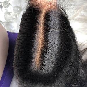 Image 5 - 13X6 Lace Front Menselijk Haar Pruiken Korte Nep Hoofdhuid Pruik Straight Korte Lange Pre Geplukt Met Baby Haar remy Voor Zwarte Vrouwen 130%