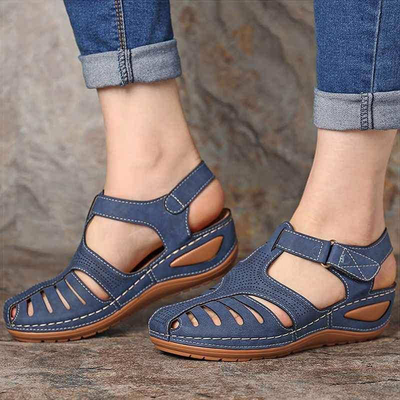 Women Sandals Soft Bottom Women Heels Sandals Gladiator Summer Shoes Women Plus Size Wedges Shoes Female Summer Sandalias Mujer