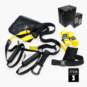Resistance Bands Fitness Hanging Belt Training Gym workout Exercise Pull rope Stretching Elastic Straps(China)