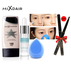 MIXDIAR Makup set 3 PCS professional Tool Kit Foundation Face Powder Puff Facial Serum Moisturizing Brighten Make Up Tool beauty