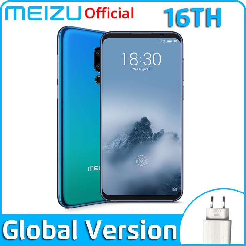 Meizu 16th 6GB 64GB Global-Version GSM/LTE/CDMA/WCDMA Mcharge Octa Core In-Screen fingerprint recognition