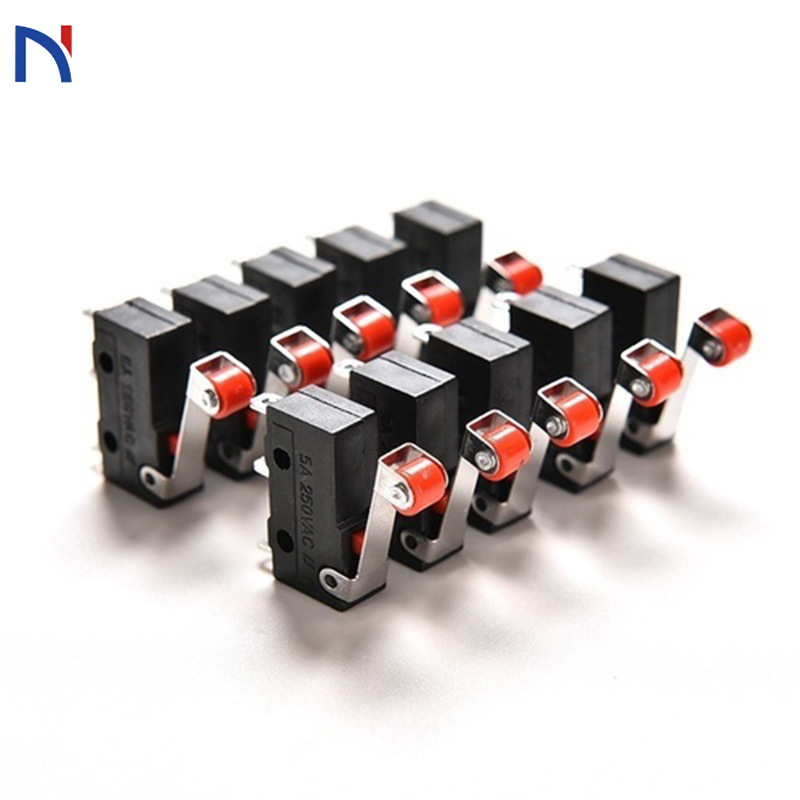 10PCS/LOT Limit Switch 3 Pin N/O N/C New 5A 250VAC KW11-3Z Micro Switch Tact Switch On Off