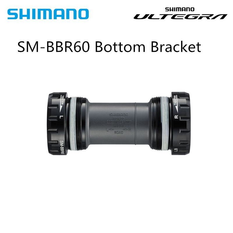 Shimano Ultegra 105 SM-BBR60 Road Race Bike Bottom Bracket 68mm BC1.37x24 5800/6800