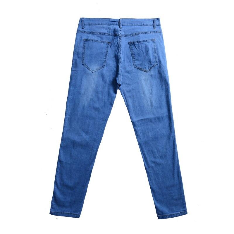 Jeans Vintage Skinny Jeans Men Casual Denim Pants Stretch Denim Trousers Autumn Streetwear Pencil Jeans Pants