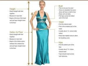 Image 4 - Свадебное платье LORIE в стиле бохо с пышными длинными рукавами, а силуэт, аппликация, платье для невесты до пола, индивидуальный пошив, свадебное платье принцессы
