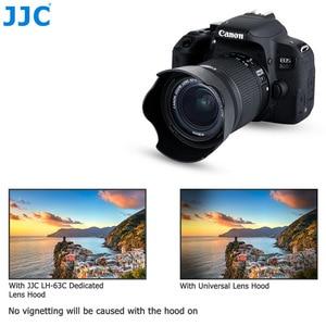 Image 4 - Lens Hood Canon EOS 90D 80D 70D 77D, canon EF S 18 55mm f/3.5 5.6 is STM, canon EF S 18 55mm f/4 5.6 is STM değiştirir EW 63C
