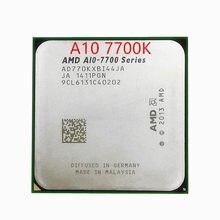 Бесплатная доставка, AMD A10 7700K, гнездо FM2 AD770KXBI44JA, четырехъядерный процессор, для настольных ПК