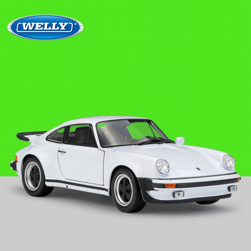 1:24 Welly Porsche 911 Turbo 3.0 1974 Diecast Model Car