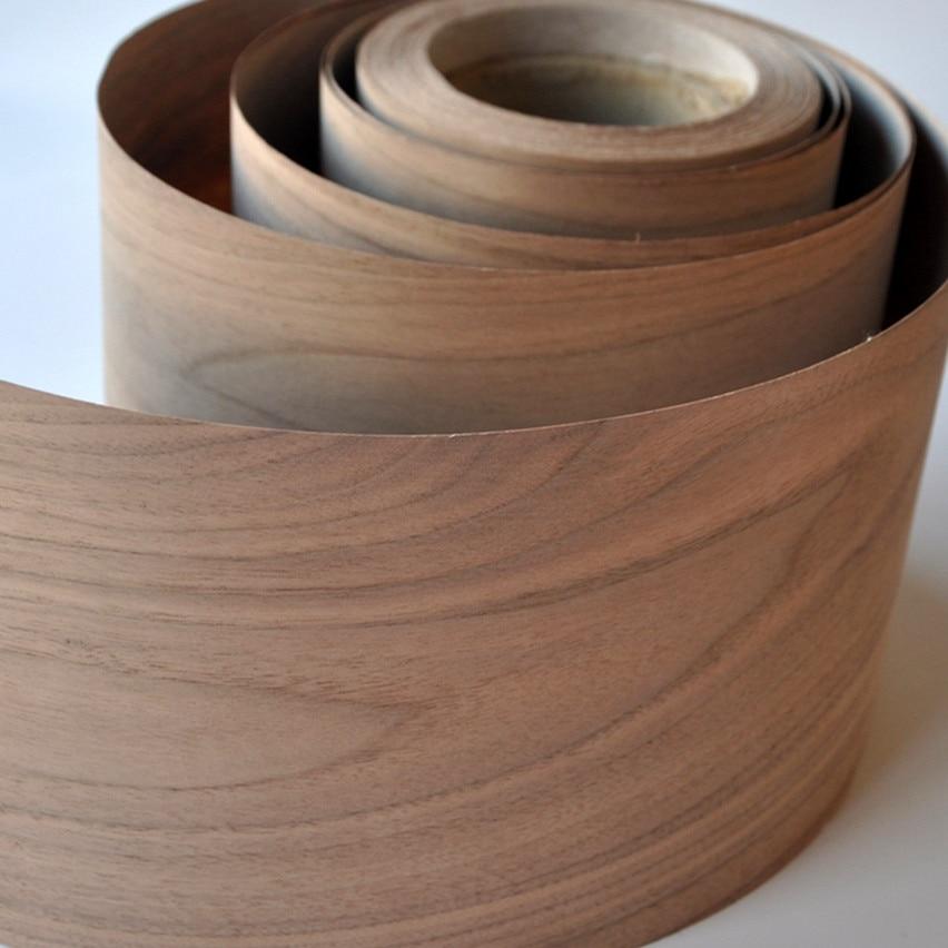 Американский грецкий орех (c) деревянные виниры, напольное покрытие, мебель DIY, натуральный материал, стул для спальни, стол, размер 250x20 см, на...