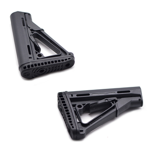 Image 3 - Outdoor Tactical Game Equipment for Airsoft Air Guns Jinming 8 M4 Water Bullet Nylon Rear Butt Model Rifle Paintball Accessories