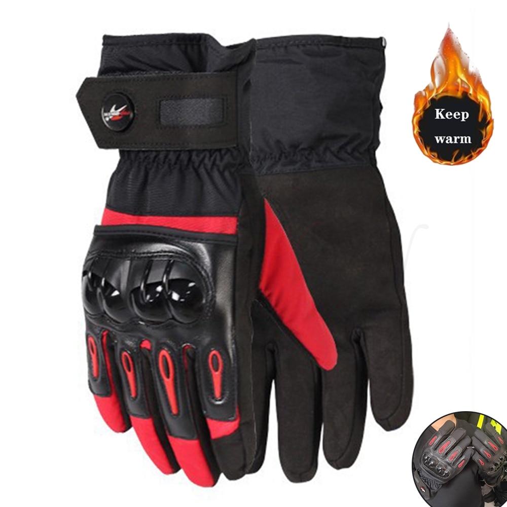 Męskie motocyklowe zimowe rękawiczki wodoodporne rękawiczki ladys chłopcy motocyklowe kobieta kolarstwo Motocross Motocross rękawice wyścigowe
